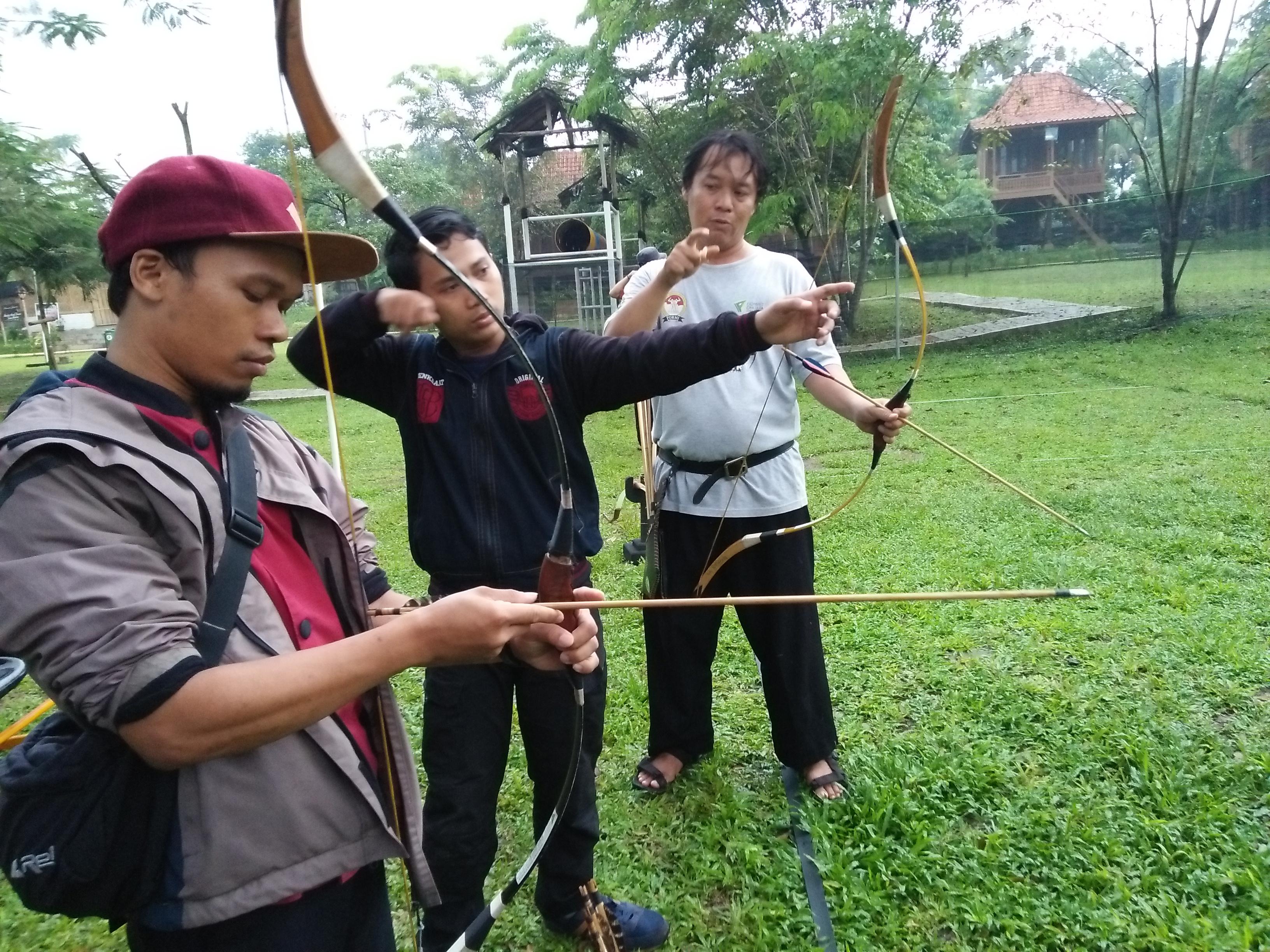 Free Archery Burit ( Ngabuburit Sambil Bermain Panahan Secara Gratis di Wisata Djampang )