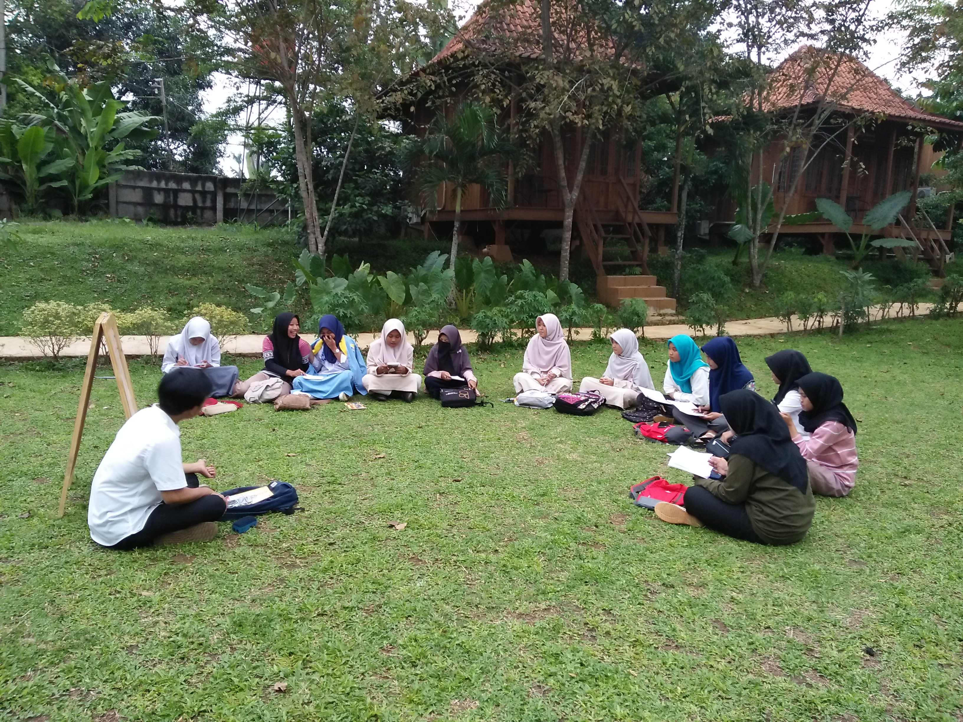 Cerita Ramadhan Di Kampoeng Wisata Djampang Bersama  JEV Ngabuburit