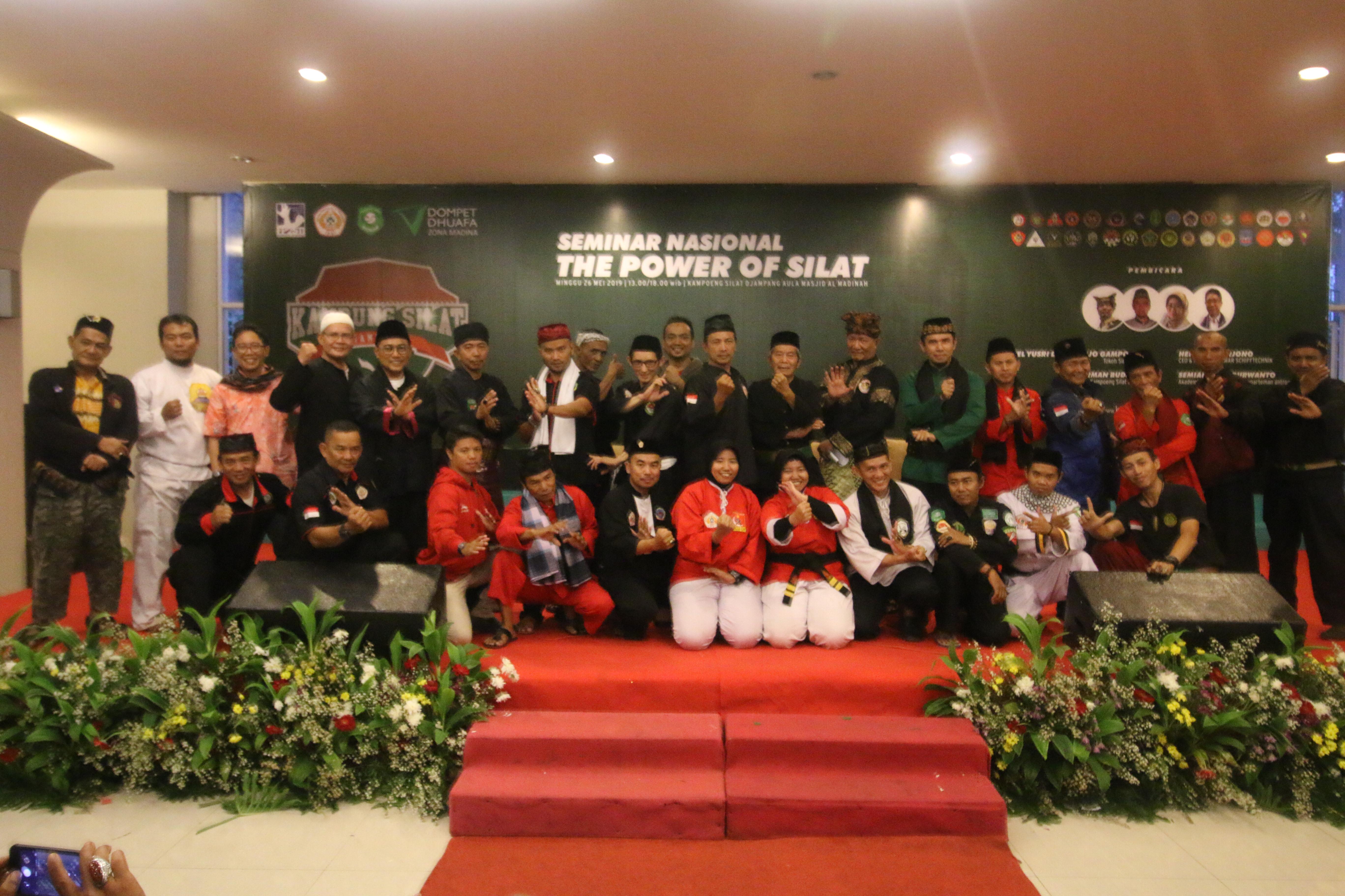 400 Pendekar Silat Ikuti Seminar Nasional The Power Of Silat