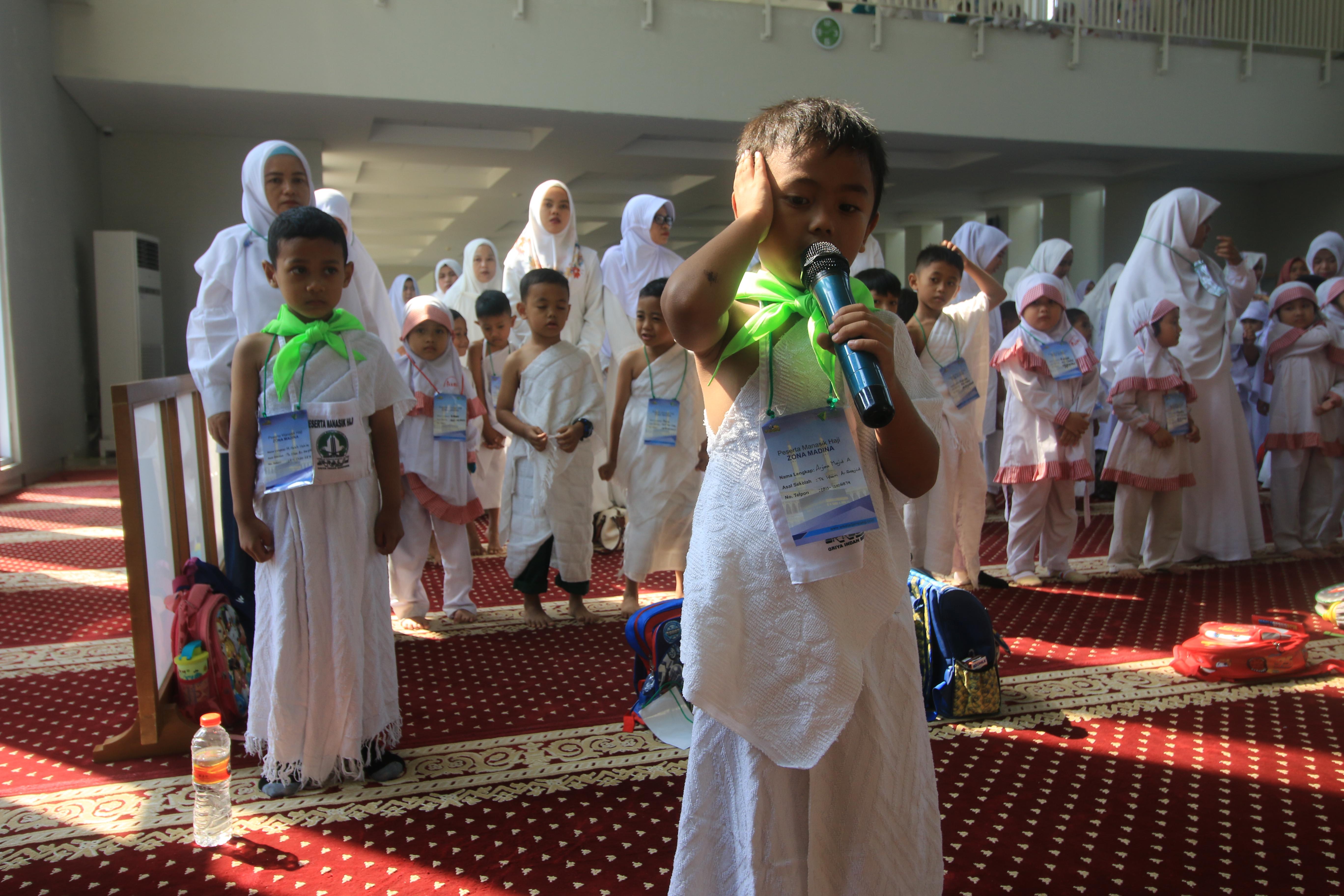 IGTK Gunung Sindur Gelar Manasik Haji di Kawasan Zona Madina