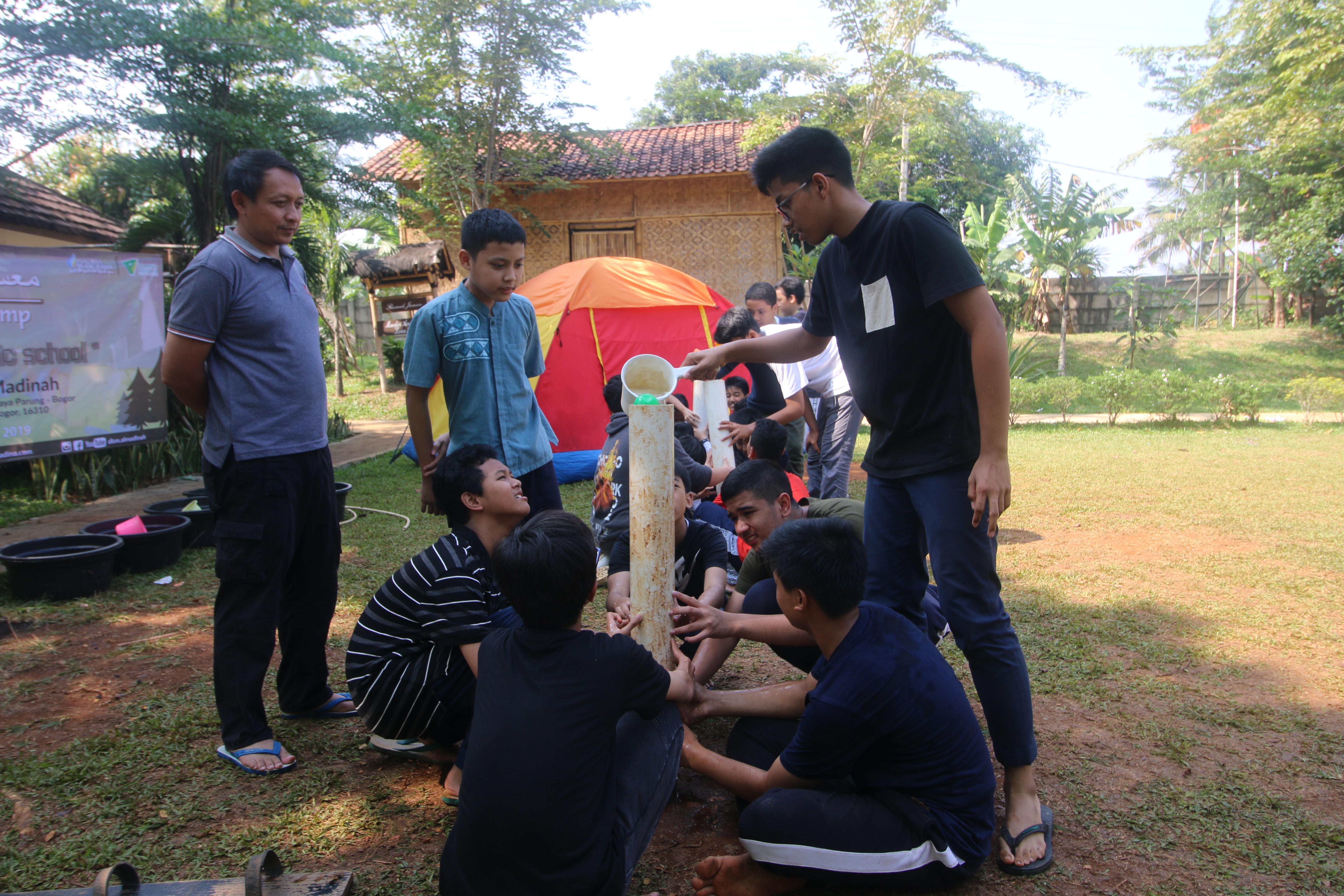 Arabic Camp di Wisata Djampang